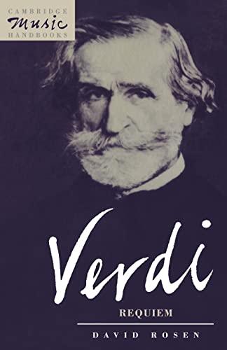 9780521397674: Verdi: Requiem (Cambridge Music Handbooks)