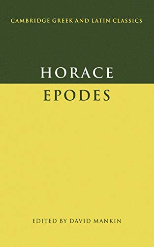 9780521397742: Horace: Epodes Paperback (Cambridge Greek and Latin Classics)