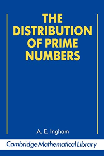9780521397896: The Distribution of Prime Numbers (Cambridge Mathematical Library)