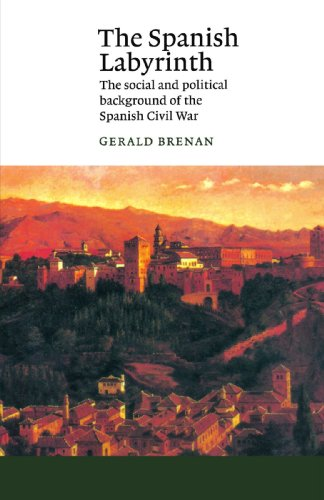 9780521398275: The Spanish Labyrinth: An Account of the Social and Political Background of the Spanish Civil War (Canto)