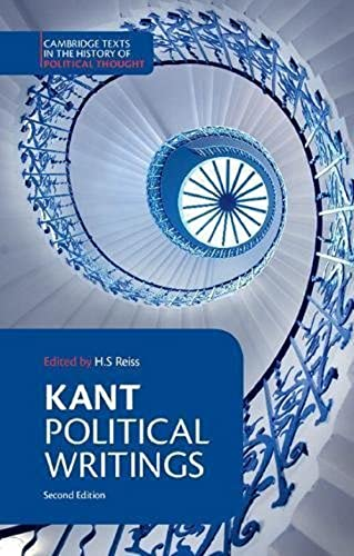 9780521398374: Kant: Political Writings 2nd Edition Paperback (Cambridge Texts in the History of Political Thought)