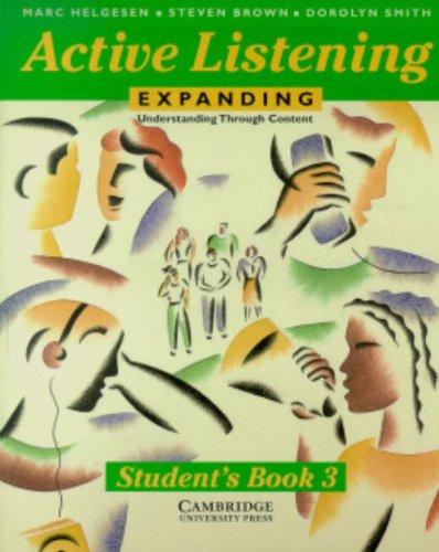 9780521398831: Active Listening: Expanding Understanding through Content Student's book