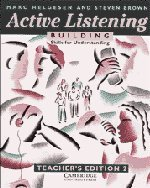 9780521398855: Active Listening: Building Skills for Understanding Teacher's edition