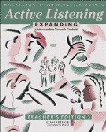 9780521398862: Active Listening: Expanding Understanding through Content Teacher's edition