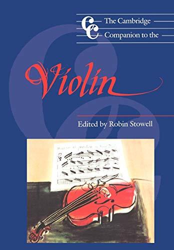 9780521399234: The Cambridge Companion to the Violin