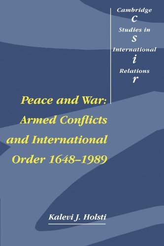 9780521399296: Peace and War: Armed Conflicts and International Order, 1648-1989 (Cambridge Studies in International Relations)