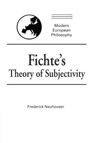 9780521399388: Fichte's Theory of Subjectivity