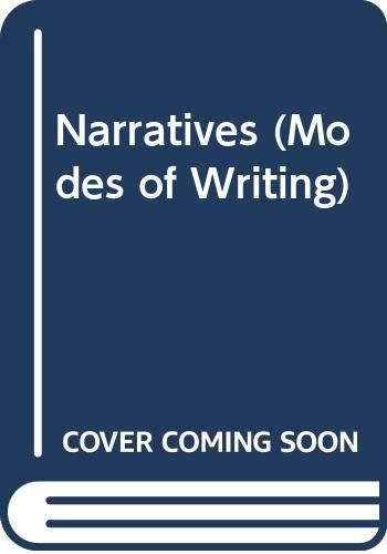 9780521399685: Narratives (Modes of Writing)