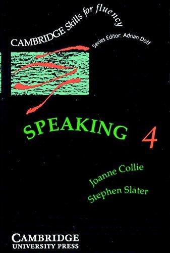 9780521399739: Speaking 4 Audio Cassette: Advanced (Cambridge Skills for Fluency)