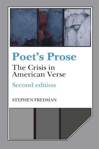 9780521399944: Poet's Prose: The Crisis in American Verse
