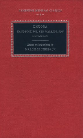 9780521400190: Dhuoda, Handbook for her Warrior Son: Liber Manualis