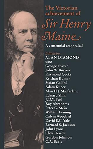 9780521400237: The Victorian Achievement of Sir Henry Maine: A Centennial Reappraisal