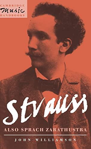 9780521400763: Strauss: Also sprach Zarathustra (Cambridge Music Handbooks)