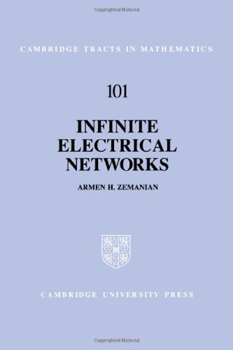 9780521401531: Infinite Electrical Networks (Cambridge Tracts in Mathematics)