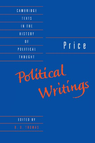 9780521401623: Price: Political Writings (Cambridge Texts in the History of Political Thought)