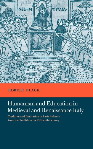 9780521401920: Humanism and Education in Medieval and Renaissance Italy: Tradition and Innovation in Latin Schools from the Twelfth to the Fifteenth Century
