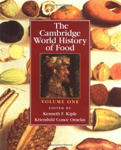 9780521402149: The Cambridge World History of Food (Part 1)
