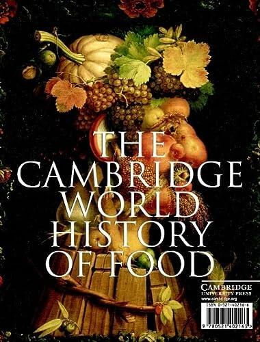 9780521402163: The Cambridge World History of Food 2 Part Boxed Hardback Set