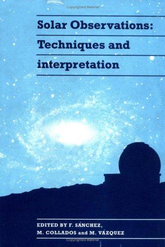 9780521402514: Solar Observations