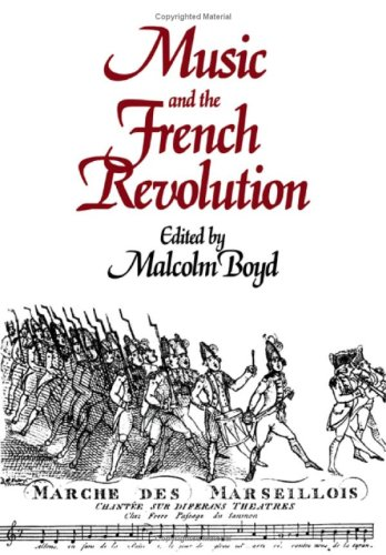 9780521402873: Music and the French Revolution