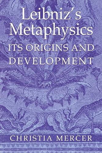 9780521403016: Leibniz's Metaphysics: Its Origins and Development