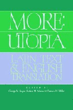 9780521403184: More: Utopia: Latin Text and English Translation