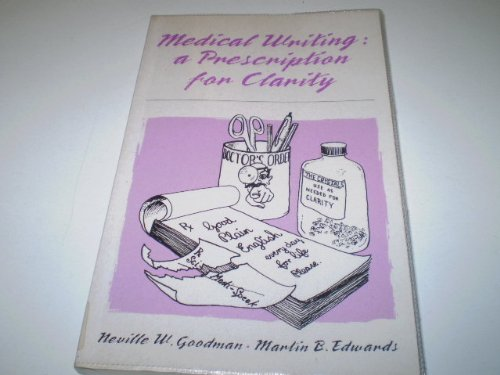 9780521403436: Medical Writing: A Prescription for Clarity