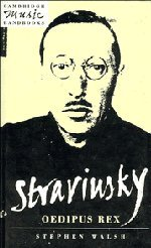 9780521404310: Stravinsky: Oedipus Rex