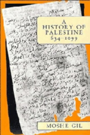 9780521404372: A History of Palestine, 634-1099: 001