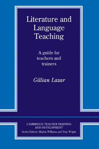9780521404808: Literature and Language Teaching: A Guide for Teachers and Trainers