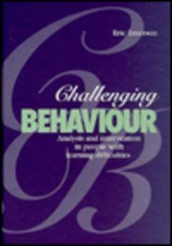 9780521404853: Challenging Behaviour: Analysis and Intervention in People with Learning Disabilities