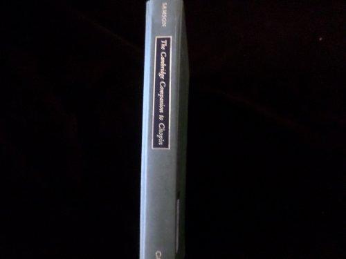 9780521404907: The Cambridge Companion to Chopin (Cambridge Companions to Music)