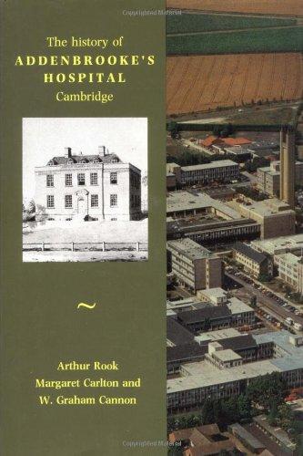 9780521405294: History of Addenbrooke's Hospital, Cambridge