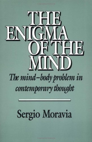 9780521405577: The Enigma of the Mind: The Mind-Body Problem in Contemporary Thought