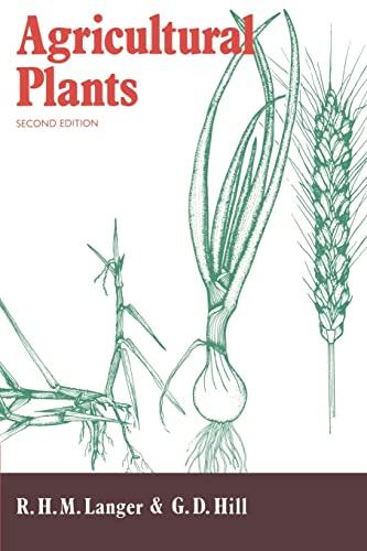 9780521405638: Agricultural Plants