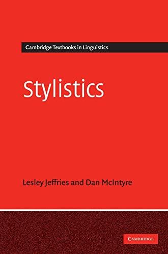9780521405645: Stylistics (Cambridge Textbooks in Linguistics)