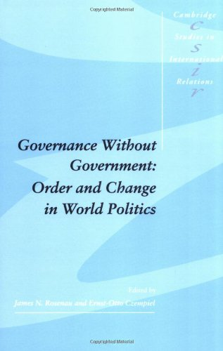 9780521405782: Governance without Government: Order and Change in World Politics