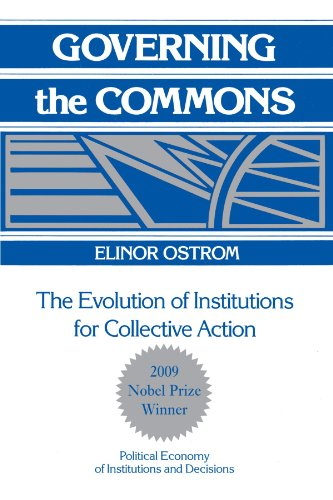 9780521405997: Governing the Commons: The Evolution of Institutions for Collective Action (Political Economy of Institutions and Decisions)
