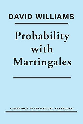 9780521406055: Probability with Martingales (Cambridge Mathematical Textbooks)