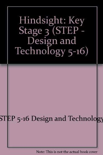 9780521406390: Hindsight (STEP - Design and Technology 5-16)