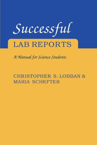 9780521407410: Successful Lab Reports: A Manual for Science Students