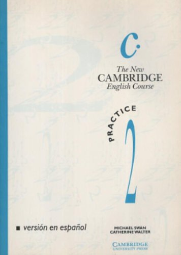 9780521408424: The New Cambridge English Course 2 Practice book Spanish edition: Level 2