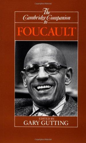 9780521408875: The Cambridge Companion to Foucault (Cambridge Companions to Philosophy)