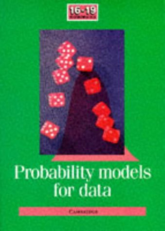 9780521408936: Probability Models for Data (School Mathematics Project 16-19)