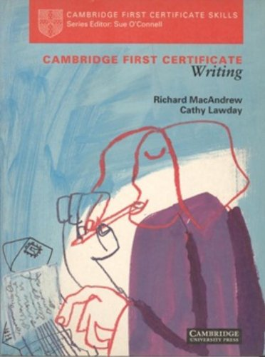 9780521409001: Cambridge First Certificate Writing Student's book (Cambridge First Certificate Skills)