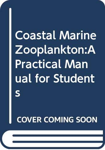 9780521409186: Coastal Marine Zooplankton:A Practical Manual for Students