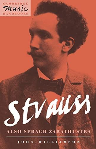 9780521409353: Strauss: Also sprach Zarathustra (Cambridge Music Handbooks)