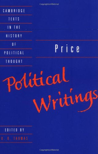 9780521409698: Price: Political Writings (Cambridge Texts in the History of Political Thought)