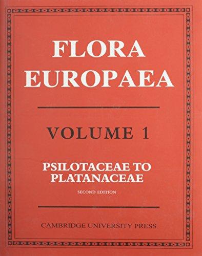 9780521410076: Flora Europaea, Vol. 1: Psilotaceae to Platanaceae