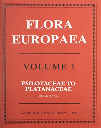 Flora Europaea: Lycopodiaceae to Platanaceae v.1 (Hardback)
